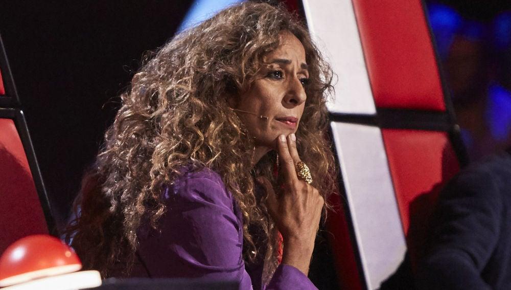 Rosario Flores en las Audiciones a ciegas de 'La Voz Kids'