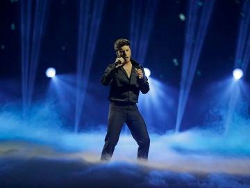 Blas Cantó en Eurovision 2021