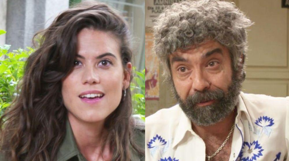 Sara Moraleda y Fede Celada, Jose y Curtis en 'Amar es para siempre'