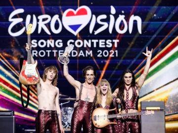 Los italianos Maneskin ganan la 65 edición de Eurovisión