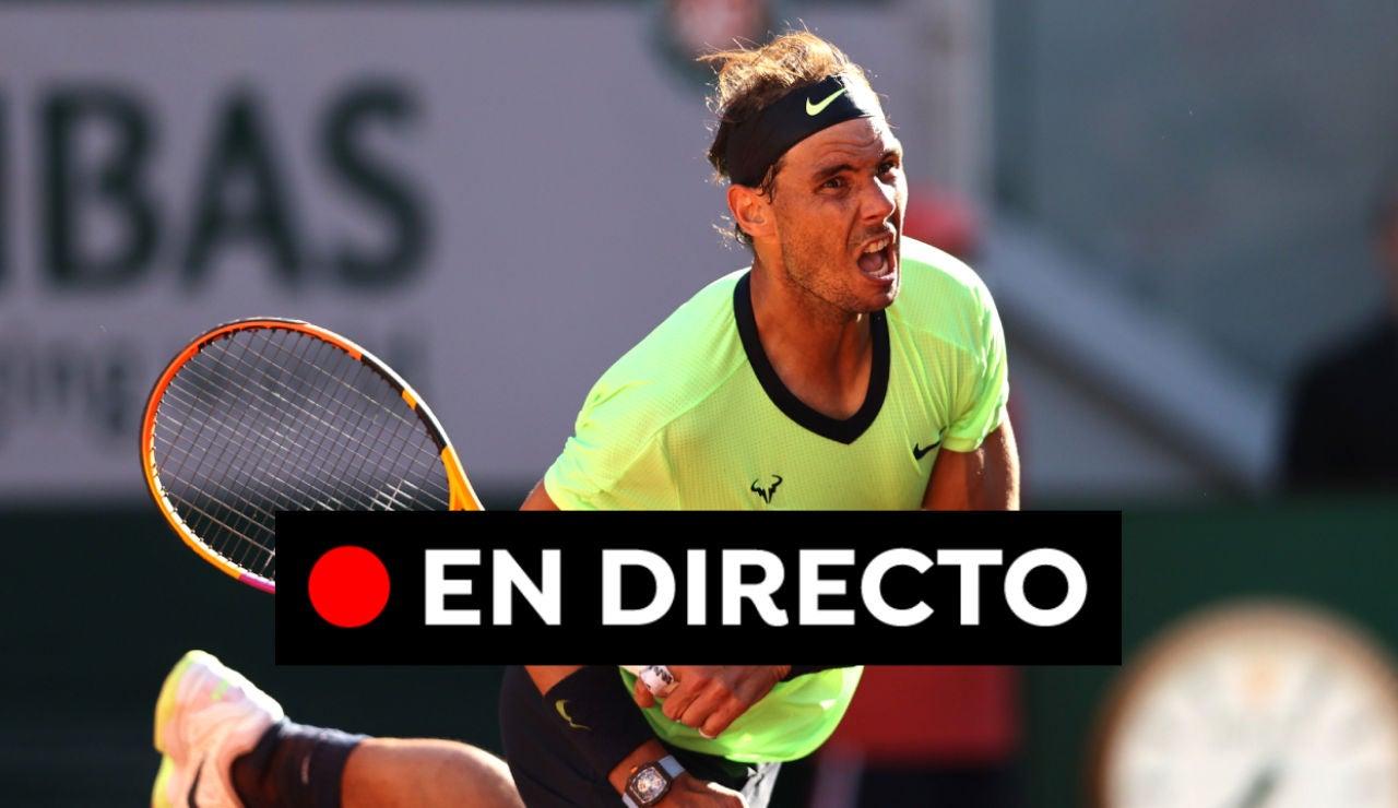 Rafa Nadal - Alexei Popyrin: Resultado y puntos del partido de tenis de Roland Garros 2021 hoy, en directo