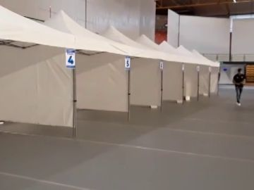 La vacunación en Ourense se traslada al palacio de deportes desde este jueves