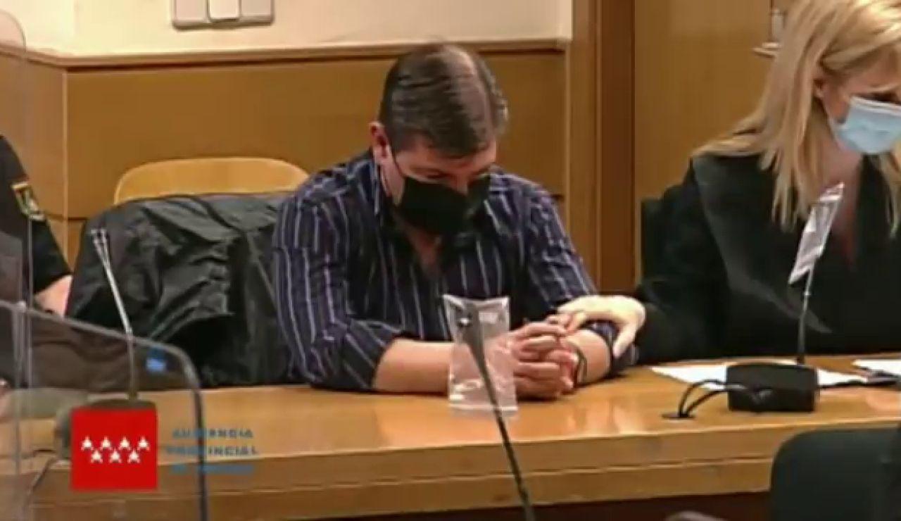 Así ha escuchado el 'Rey del Cachopo' el veredicto del jurado popular por la muerte de Heidi Paz