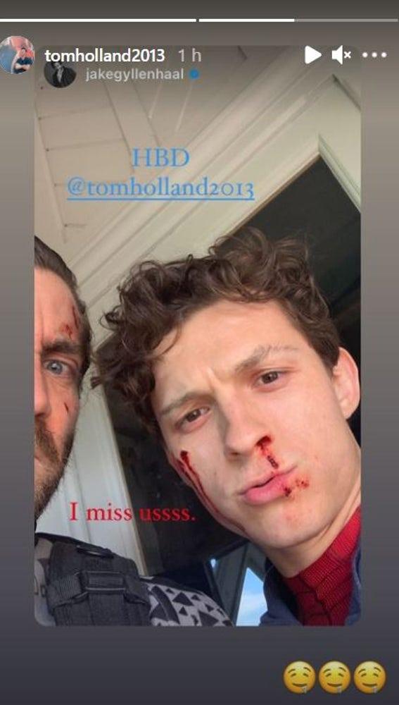 Tom Holland se derrite con la felicitación de Jake Gyllenhaal por su 25 cumpleaños