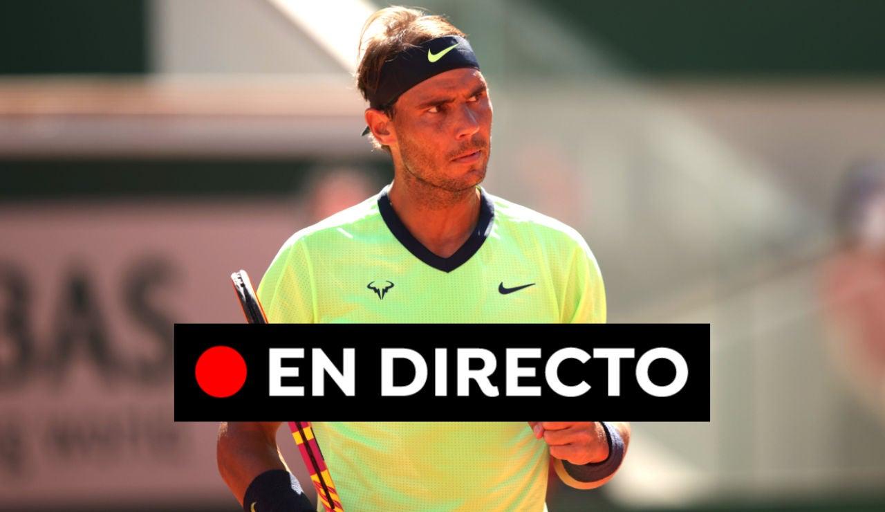 Nadal - Popyrin, en directo hoy: Resultado del partido de Roland Garros 2021, en vivo