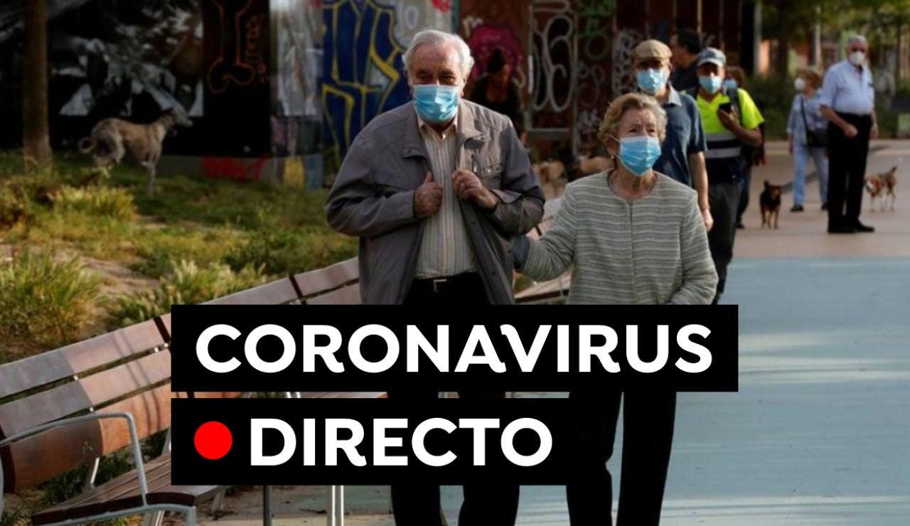 Coronavirus en España hoy: Segunda dosis de la vacuna, uso de la mascarilla y última hora, en directo