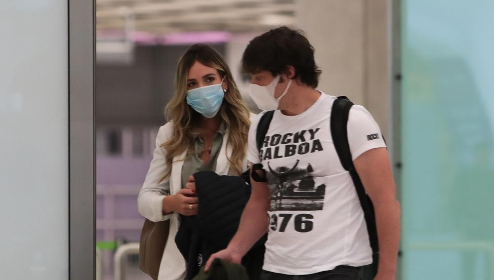 Jordi Cruz y su novia, Rebecca Lima
