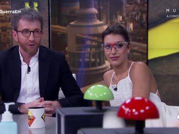 """""""¡Cuánta ira acumulada!"""", Antonio Resines asusta a Ana Guerra en 'El Hormiguero 3.0'"""
