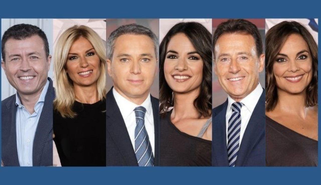 Antena 3 Noticias, líderes informativos