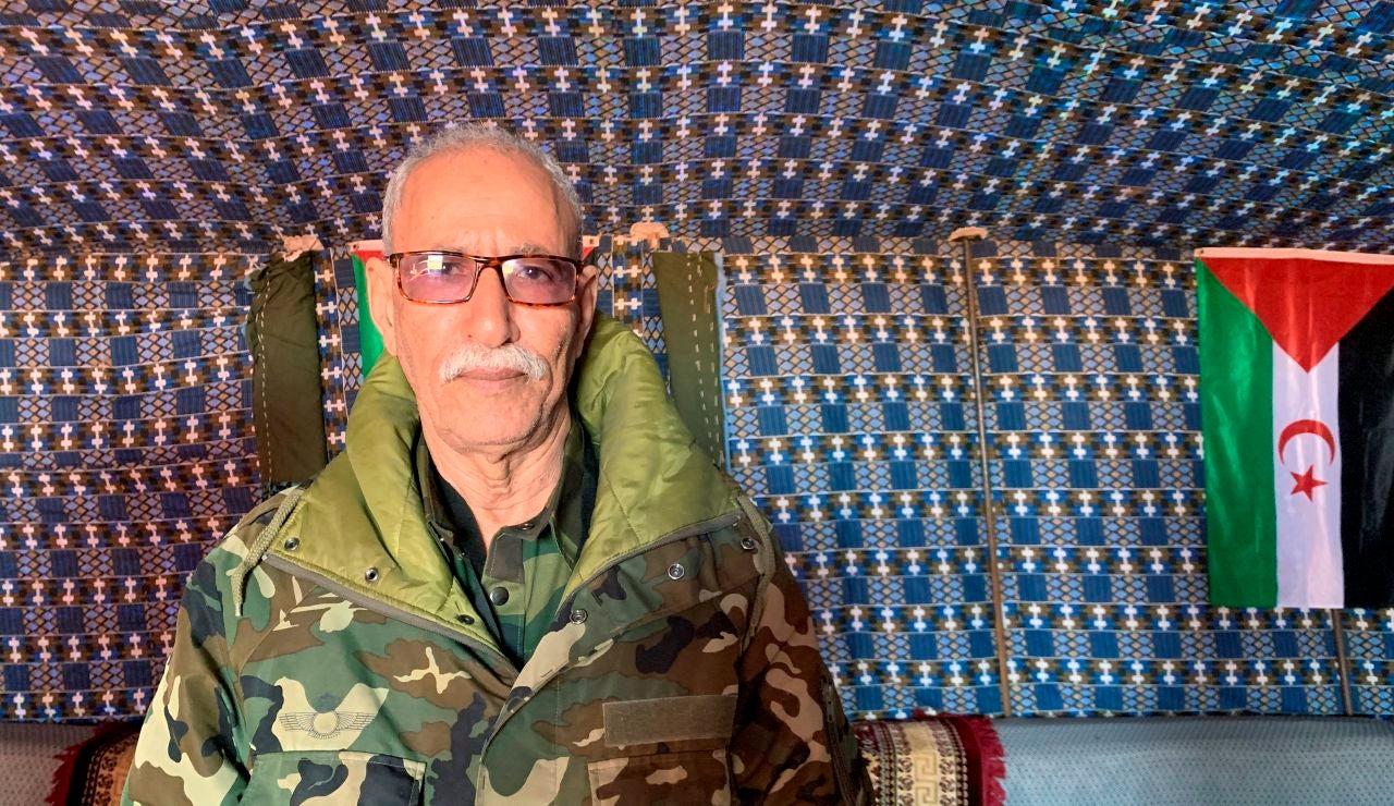 Confusión ante una posible salida de España del líder del Frente Polisario