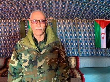Brahim Gali, líder del Frente Polisario