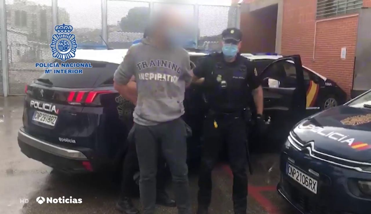 Un detenido tras intentar atracar una sucursal bancaria de Murcia y herir a varios agentes de Policía