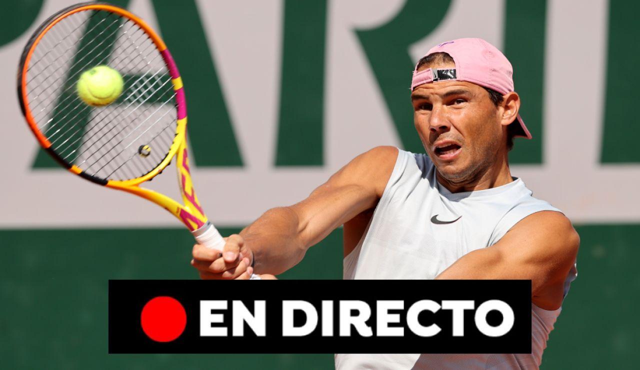 Rafa Nadal - Alexei Popyrin: partido de hoy del Roland Garros, en directo