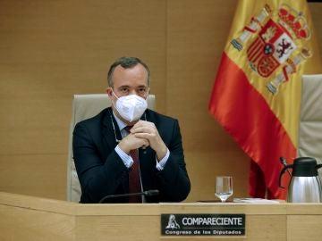 Francisco Martínez niega comparece 'comisión Kitchen'