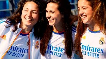 Ivana Andrés, Samara Ortiz y la delantera Marta Cardona