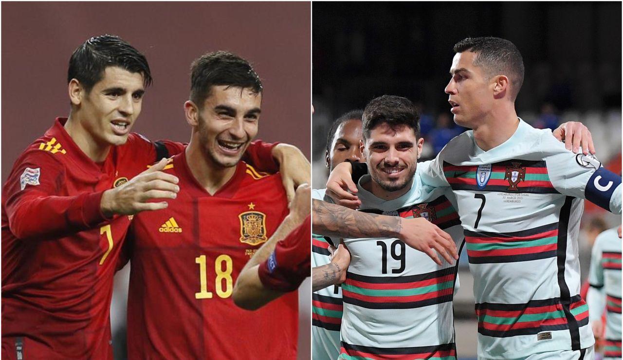 España - Portugal: Horario y alineaciones del partido previo a la Eurocopa