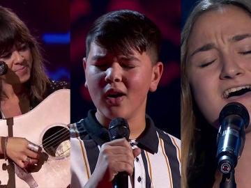 El TOP5 de las cuartas Audiciones a ciegas: desde un dueto con Vanesa a la guitarra hasta dulzura de Noa