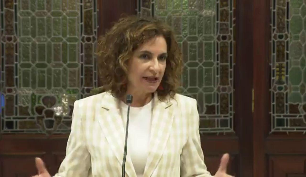 """María Jesús Montero asegura que Brahim Ghali recibió ayer el alta y no se comunicó """"por seguridad"""""""