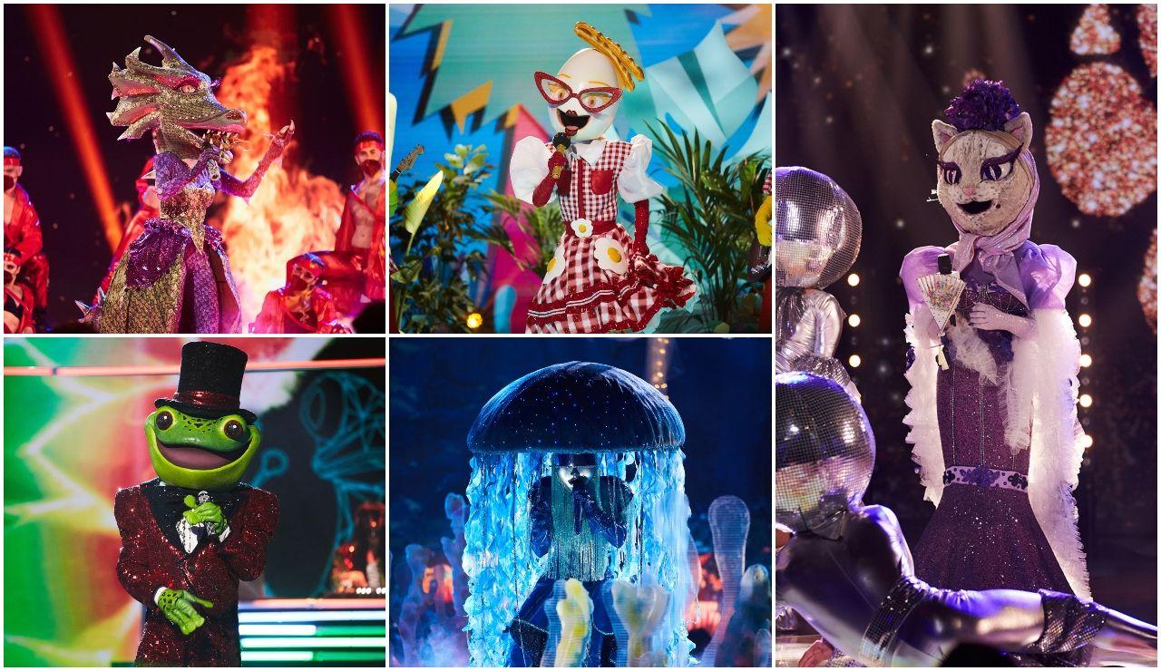 ¿Cuál ha sido tu actuación favorita de la segunda gala de 'Mask Singer'? ¡Déjanos tu voto!