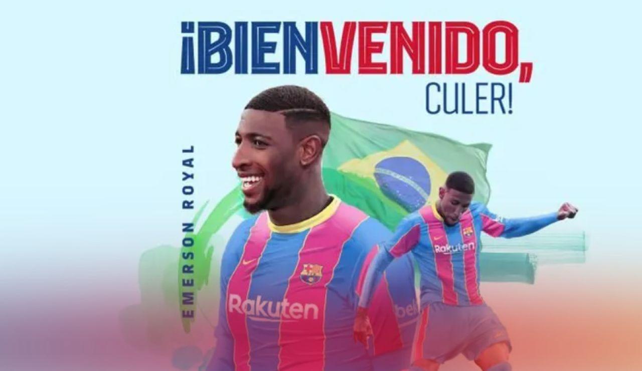 OFICIAL: Emerson, tercer fichaje del Barcelona