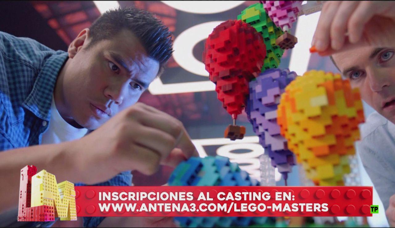 Apúntate al casting para participar en 'Lego Masters'