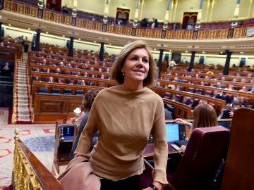 La exministra y exsecretaria general del PP María Dolores de Cospedal