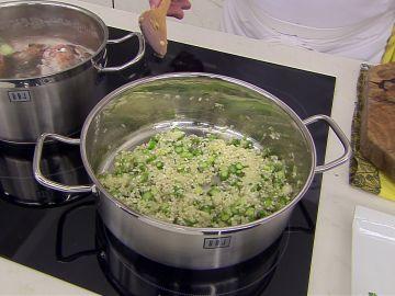 """Arguiñano desvela """"la base del risotto"""" para tenerlo """"al punto"""""""