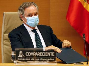 Ignacio López del Hierro en la Comisión de Investigación 'Kitchen'