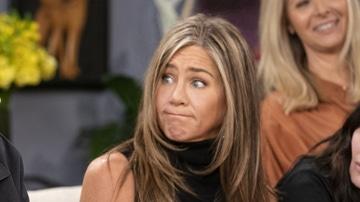 Jennifer Aniston en la reunión de 'Friends'