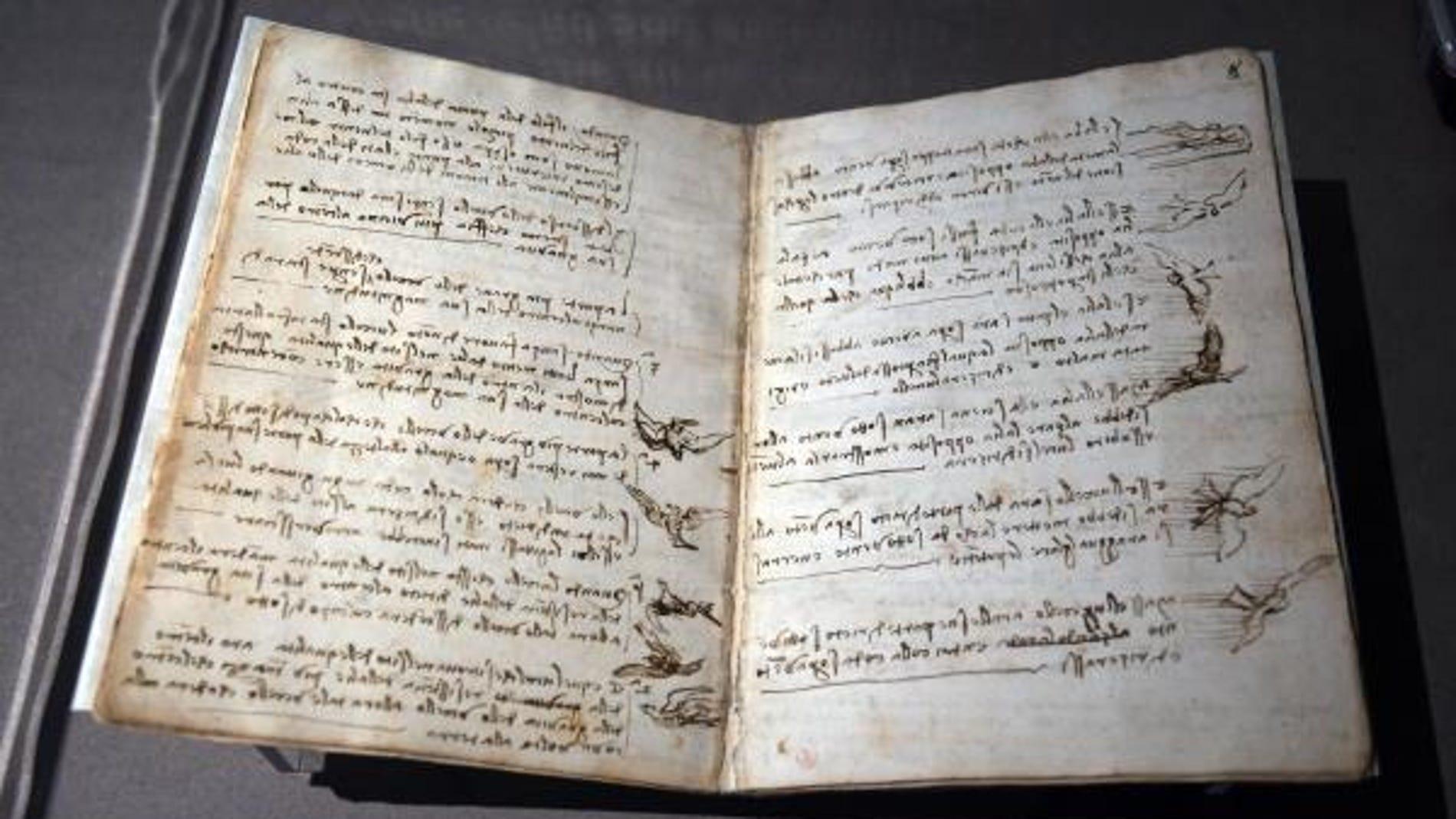 El Codex Leicester, de Leonardo Da Vinci