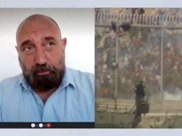 Eduardo García, secretario provincial de la Confederación Española de Policía en Ceuta: