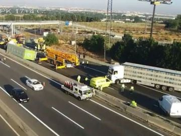 Accidente camión A-2