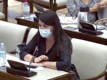 Macarena Olona denuncia amenazas de un diputado del PP en la comisión 'Kitchen'