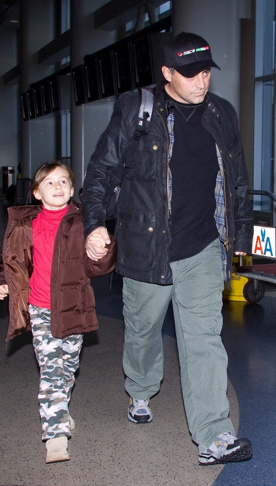 Matt LeBlanc y su hija Marina Pearl LeBlanc