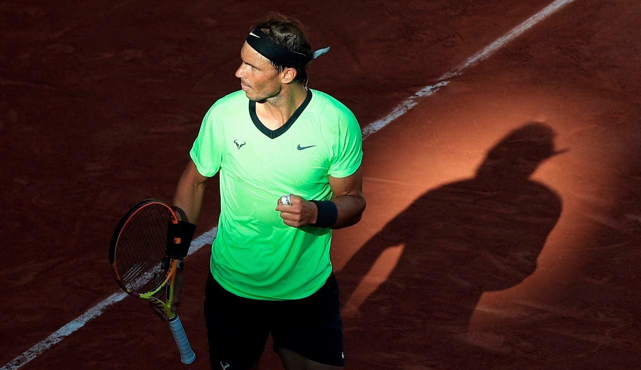 Rafa Nadal cumple 35 años en Roland Garros con la mira puesta en su 21º Grand Slam
