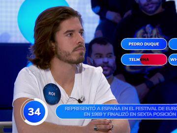 ¿Pedro Duque en Eurovisión? El divertido lapsus de Roi Méndez en 'Una de Cuatro'