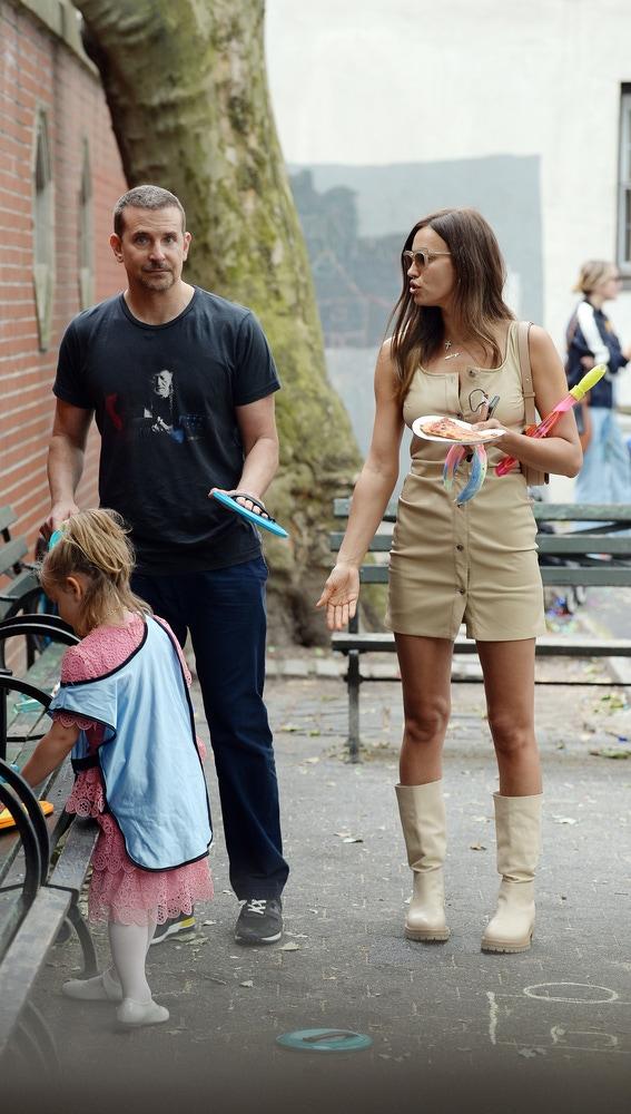 Bradley Cooper, Irina Shayk y su hija en común