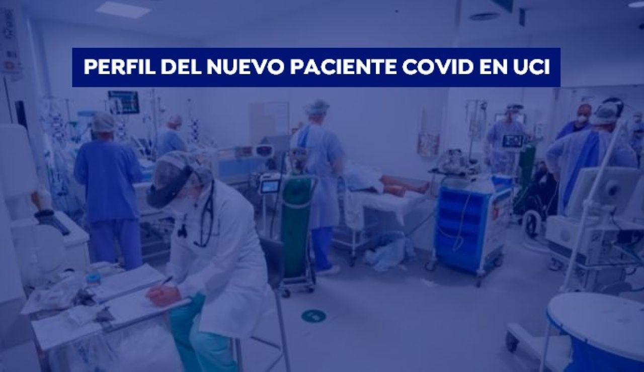 El perfil de los nuevos pacientes covid