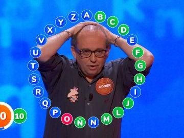 """Javier comete un error """"imperdonable"""" e intenta salvarse con el teorema Mangut en 'El Rosco', ¿lo conseguirá?"""