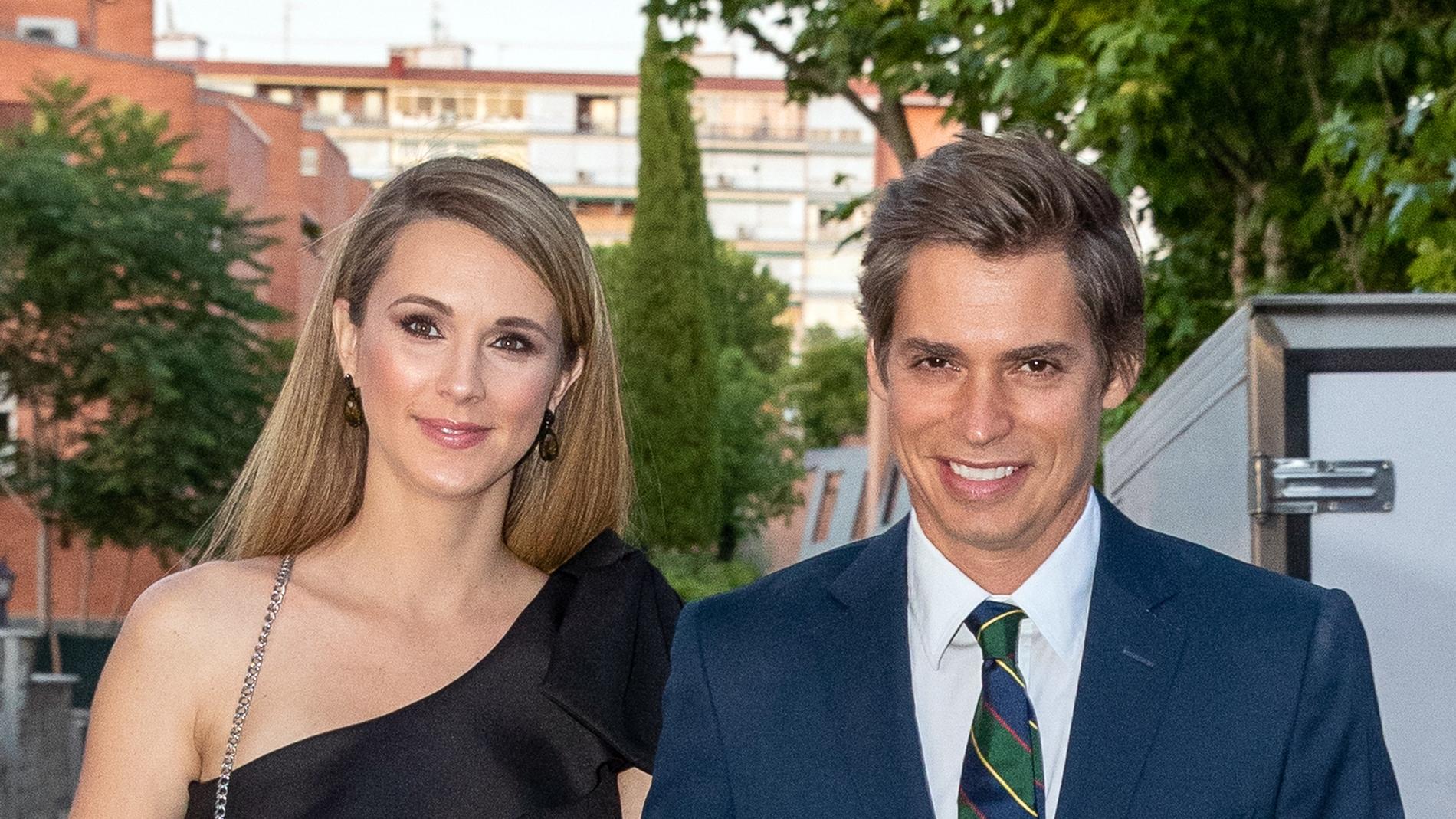Carlos Baute y su mujer Astrid Klisans