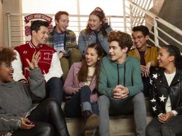 Los protagonistas de la serie de 'High School Musical'