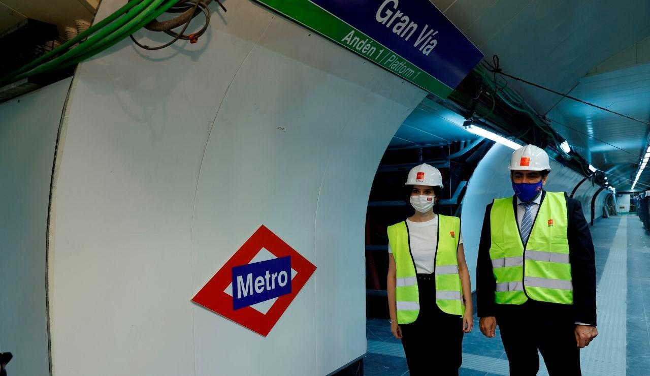 La estación de de Gran Vía del Metro de Madrid abrirá el 16 de julio, con 825 días de retraso