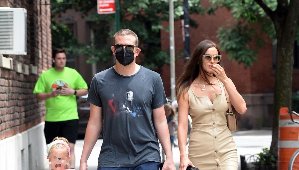 Bradley Cooper, Irina Shayk y su hija Lea