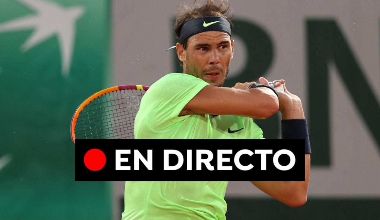 Nadal - Gasquet en vivo: Partido del Roland Garros 2021 hoy, en directo