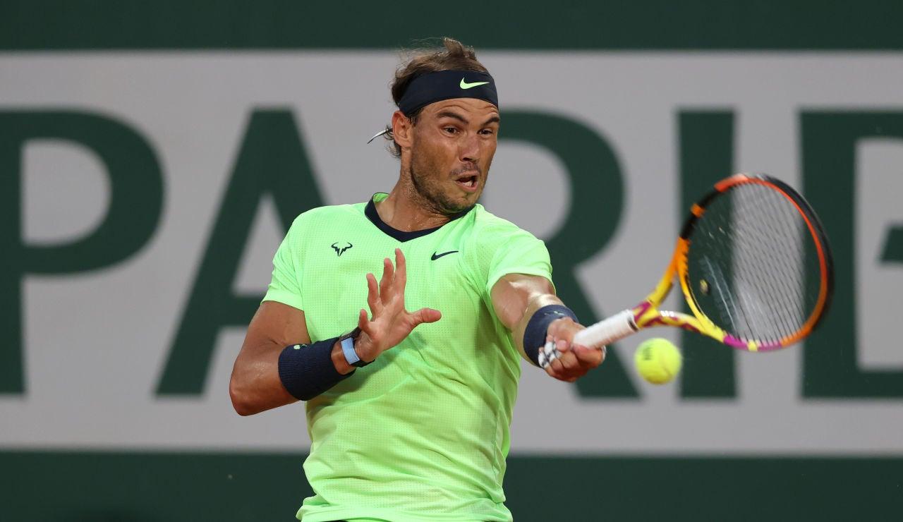 Rafa Nadal accede a tercera ronda de Roland Garros tras superar a Richard Gasquet en 3 mangas