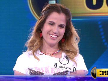 ¡A la cuarta va la vencida! Mariela se lleva 56.000 euros en el Duelo Final de '¡Ahora caigo!'
