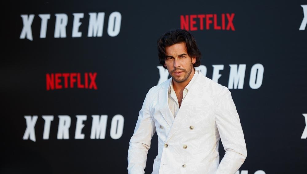 Mario Casas en la premiere de 'Xtremo'