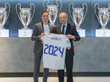 Lucas Vázquez renueva con el Real Madrid hasta 2024