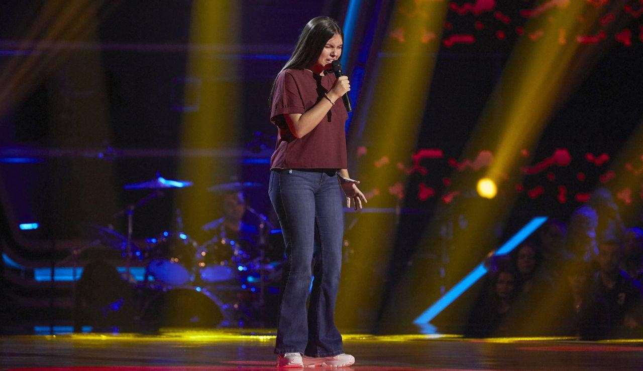 Águeda González canta 'Cai' en las Audiciones a ciegas de 'La Voz Kids'