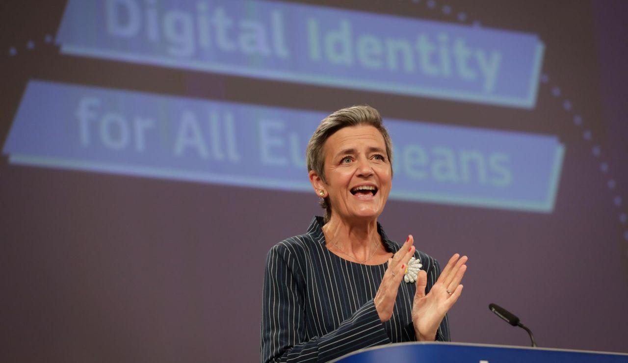La vicepresidenta ejecutiva de la Comisión y responsable de Competencia, Margrethe Vestager.